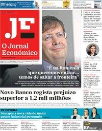 capa Jornal Económico de 1 março 2019