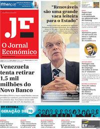 capa Jornal Económico de 22 março 2019