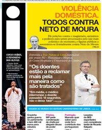 capa Jornal i de 4 março 2019