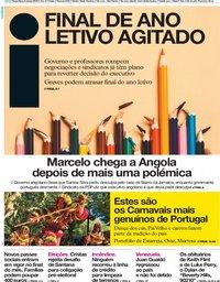 capa Jornal i de 5 março 2019