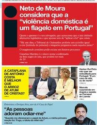 capa Jornal i de 6 março 2019