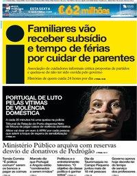 capa Jornal i de 7 março 2019