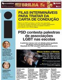 capa Jornal i de 11 março 2019