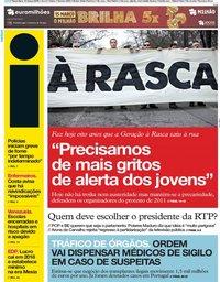 capa Jornal i de 12 março 2019