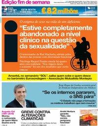 capa Jornal i de 15 março 2019