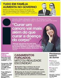 capa Jornal i de 18 março 2019