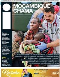 capa Jornal i de 21 março 2019
