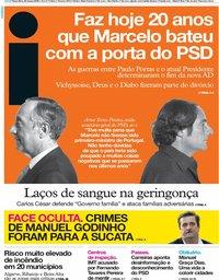 capa Jornal i de 26 março 2019