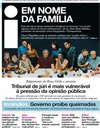 capa Jornal i de 27 março 2019