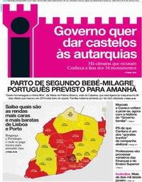 capa Jornal i de 28 março 2019