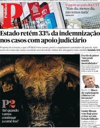 capa Público de 10 março 2019