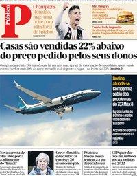 capa Público de 13 março 2019