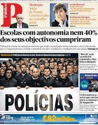 capa Público de 14 março 2019