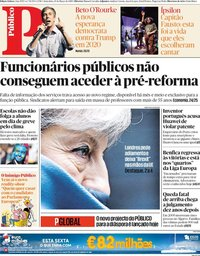 capa Público de 15 março 2019