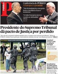 capa Público de 16 março 2019