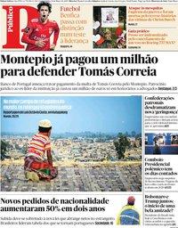 capa Público de 18 março 2019