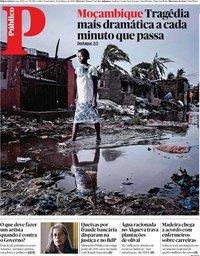 capa Público de 20 março 2019