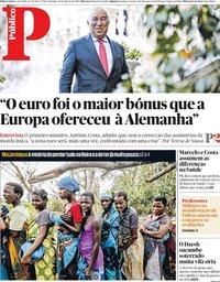 capa Público de 24 março 2019