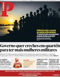 capa Público de 27 março 2019