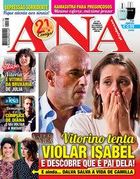 capa Revista Ana de 4 março 2019