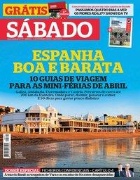 capa Revista Sábado de 21 março 2019
