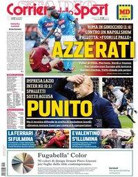 capa Corriere dello Sport de 1 abril 2019