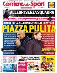 capa Corriere dello Sport de 2 abril 2019