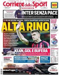 capa Corriere dello Sport de 3 abril 2019