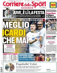 capa Corriere dello Sport de 4 abril 2019