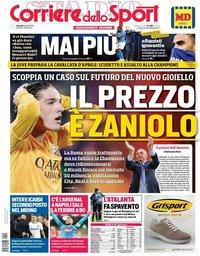 capa Corriere dello Sport de 5 abril 2019