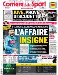 capa Corriere dello Sport de 6 abril 2019