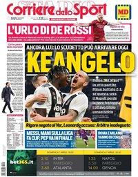 capa Corriere dello Sport de 7 abril 2019