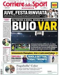capa Corriere dello Sport de 8 abril 2019