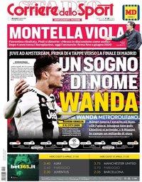 capa Corriere dello Sport de 10 abril 2019