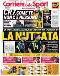 capa Corriere dello Sport de 12 abril 2019