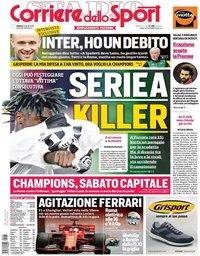 capa Corriere dello Sport de 13 abril 2019