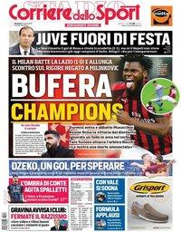 capa Corriere dello Sport de 14 abril 2019