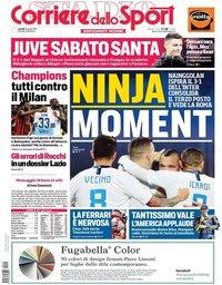 capa Corriere dello Sport de 15 abril 2019
