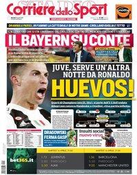 capa Corriere dello Sport de 16 abril 2019