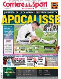 capa Corriere dello Sport de 17 abril 2019