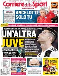 capa Corriere dello Sport de 18 abril 2019