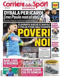 capa Corriere dello Sport de 19 abril 2019