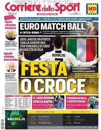 capa Corriere dello Sport de 20 abril 2019