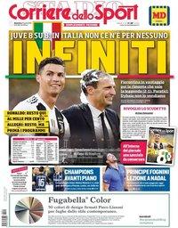 capa Corriere dello Sport de 21 abril 2019