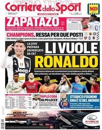 capa Corriere dello Sport de 23 abril 2019