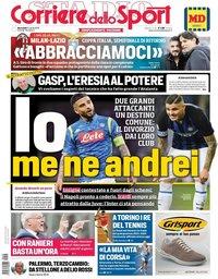 capa Corriere dello Sport de 24 abril 2019