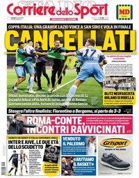capa Corriere dello Sport de 25 abril 2019