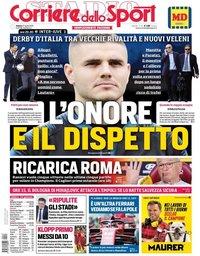 capa Corriere dello Sport de 27 abril 2019