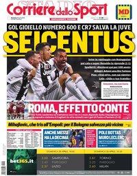 capa Corriere dello Sport de 28 abril 2019