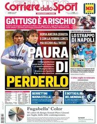 capa Corriere dello Sport de 29 abril 2019